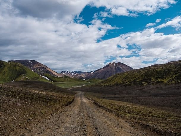 F-road in Iceland