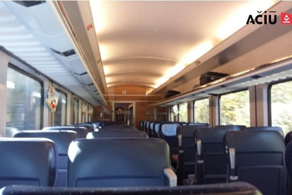 Second Class Train in Germany